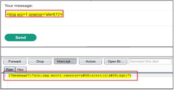 Tampering the WebSocket Message-1