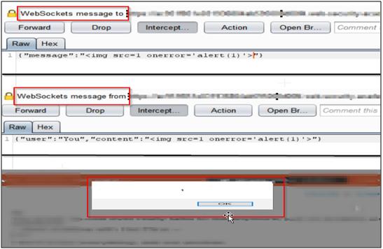 Tampering the WebSocket Message-2