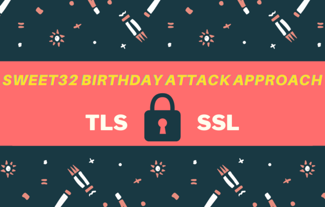 Sweet32 Birthday Attack Approach