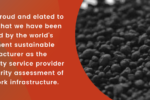 sustainable manufacturer